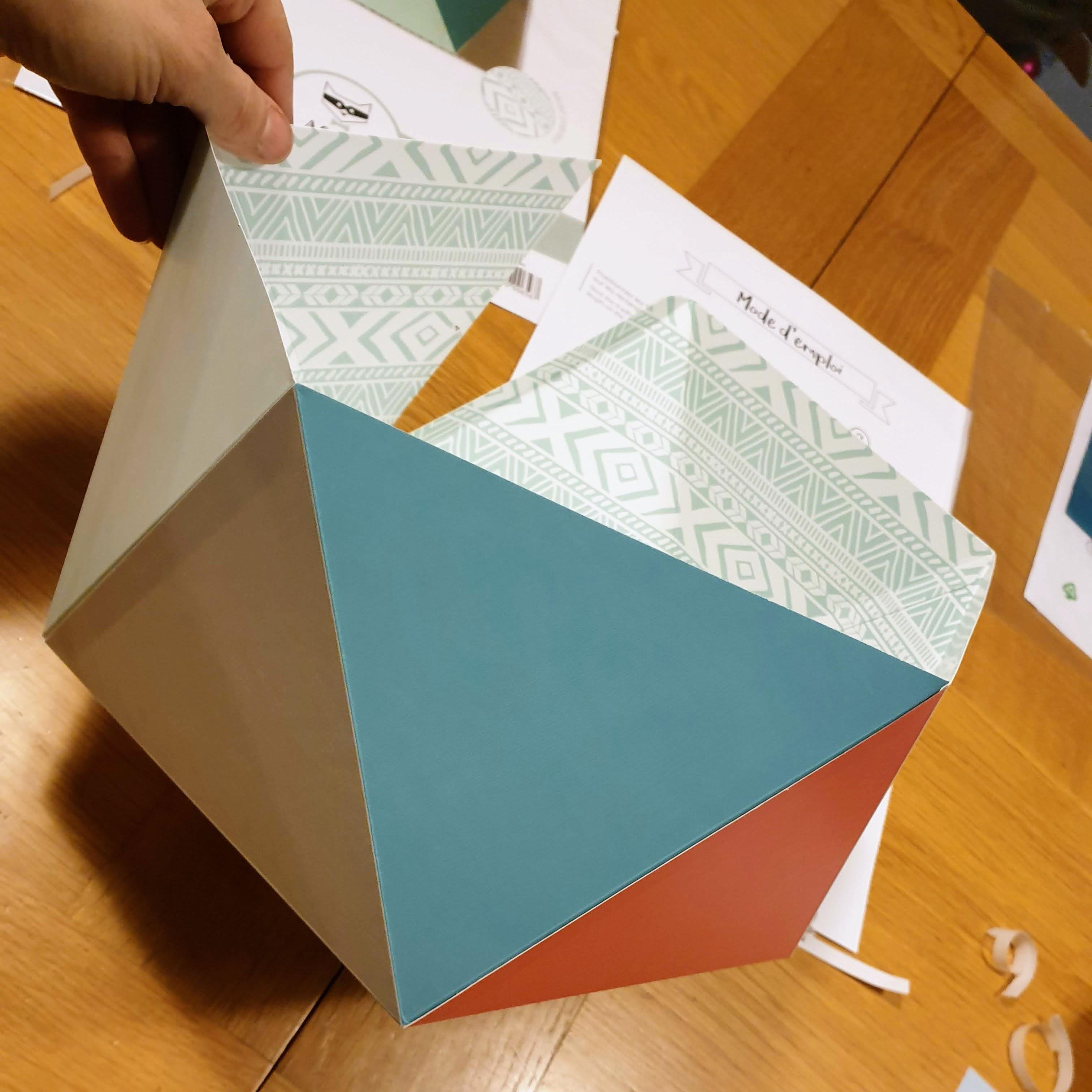 Patron Abat Jour Papier test kit fabrication abat-jour papier agent-paper