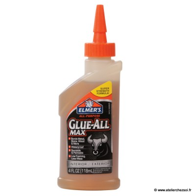 Colle forte universelle Glue All MAX Elmer's 118 ml