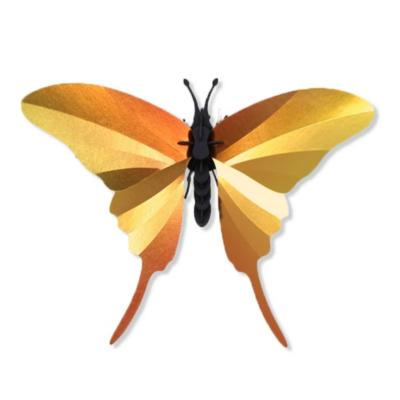 Kit de fabrication 1 Papillon Jaune Swordtail Butterfly Assembli