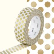 Masking Tape Motif Pois or Rouleau 15mmX10m