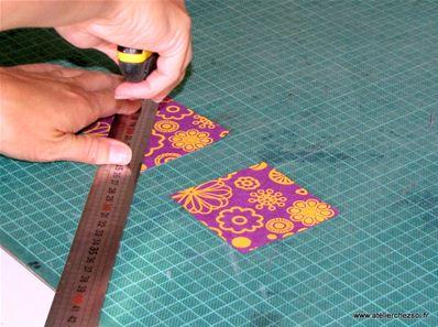 Recouvrir Un Cahier Avec Du Papier Pour Decoration