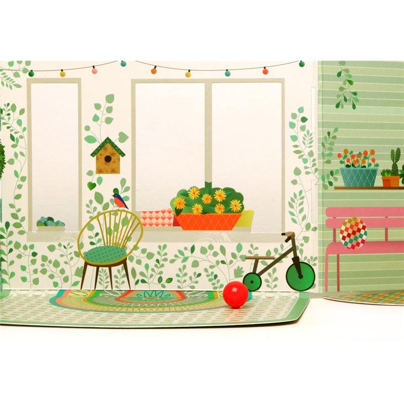 maison de poup es d pliable by mini labo mon petit art de l 39 atelier chez soi. Black Bedroom Furniture Sets. Home Design Ideas