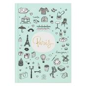 Carnet cartonné Paris Lovely Streets Mr Wonderful