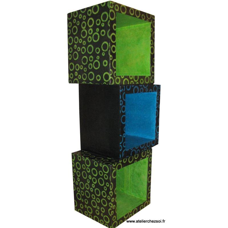 patron de meuble en carton module hubi xxl de l 39 atelier chez soi. Black Bedroom Furniture Sets. Home Design Ideas