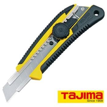 Cutter Tajima 18 mm Molette Verrouillage Grip Elastomère