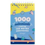 Carnet 1000 autocollants contre les notes ennyeuses 9x16cm Mr Wonderful