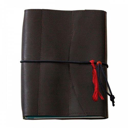 0c4b3b991121 Carnet voyage Cuir Véritable Rechargeable 16x21cm 3 cahiers L increvable  Lamali