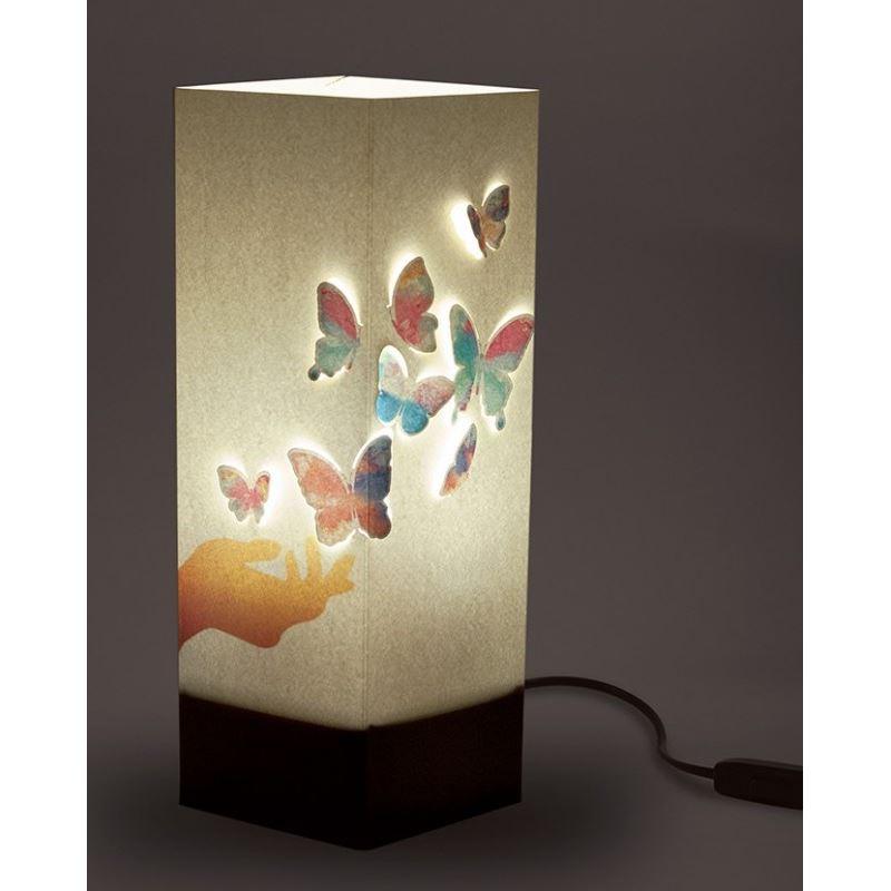 Colorés Lampe Et Wlamp À Main Poser Papillons WIYH9ED2