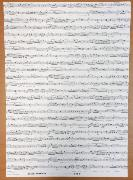 Papier italien imprimé Partitions Notes de musique 50x70 cm